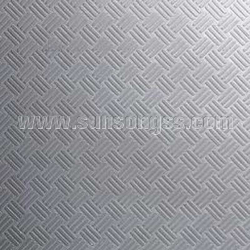 Inclined Texture Embossed Sheet
