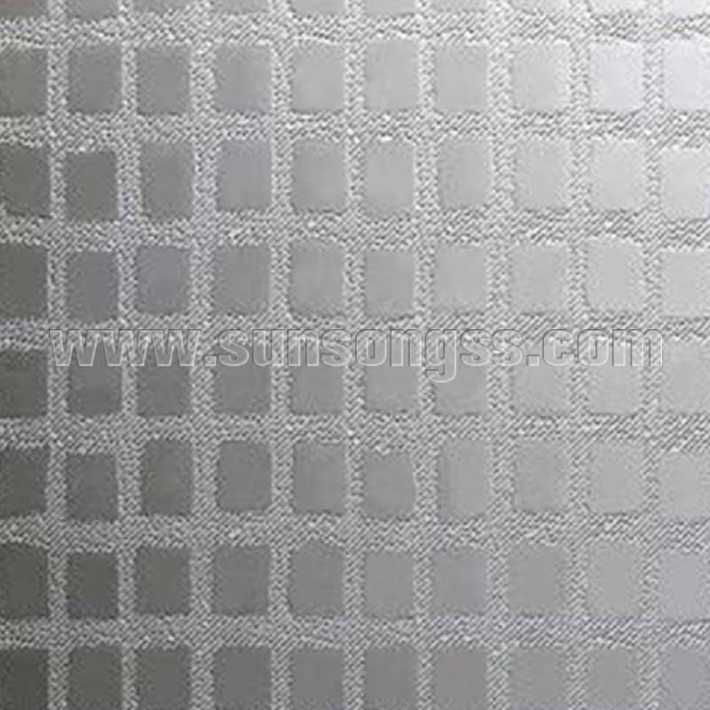 Rustic Panes Embossed Decoration Sheet