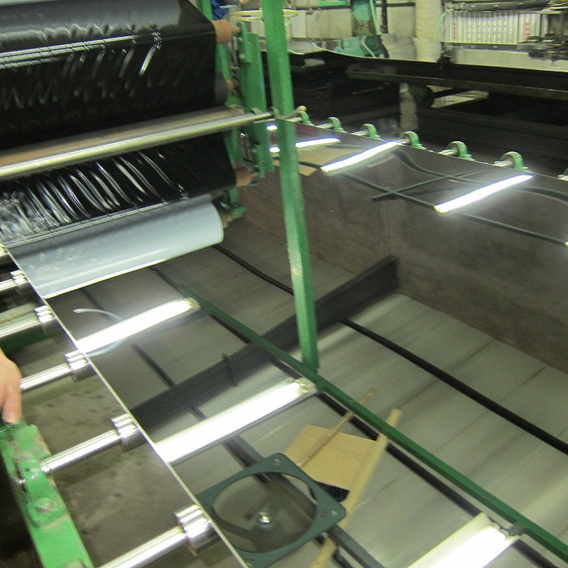 Mirror Silver stainless steel sheet