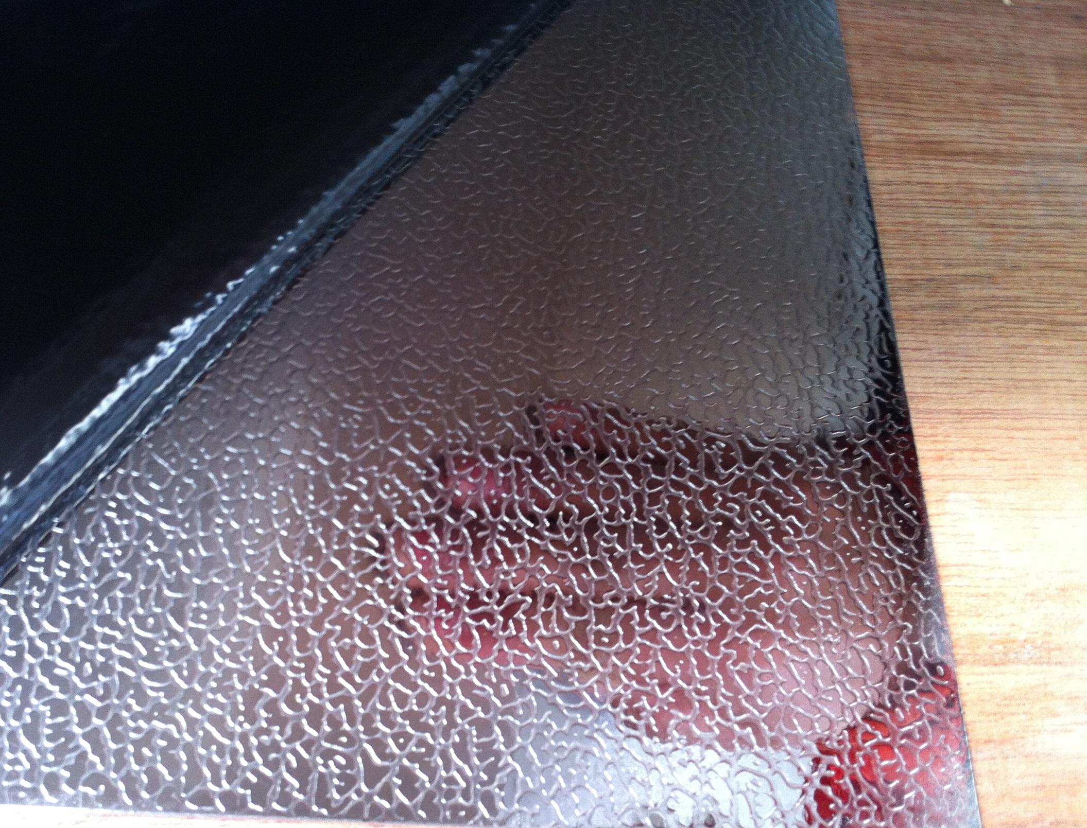 Elephant Skin Embossed Finish Sheet