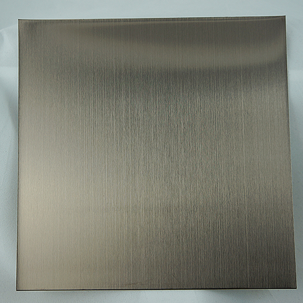 Hairline Nickel Silver stainless steel sheet