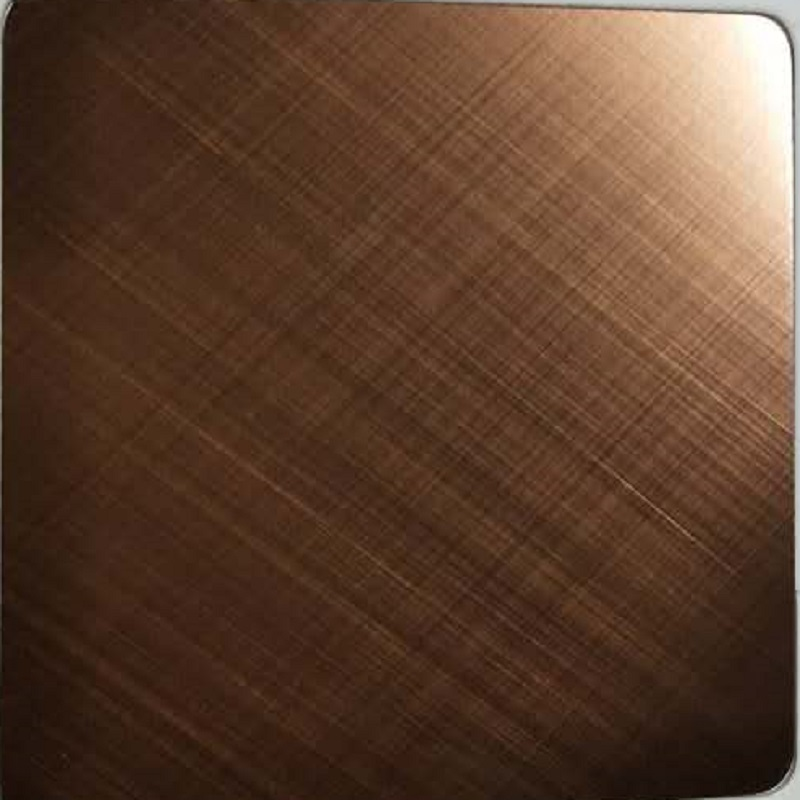 Decorative Stainless Steel Cross Hairline