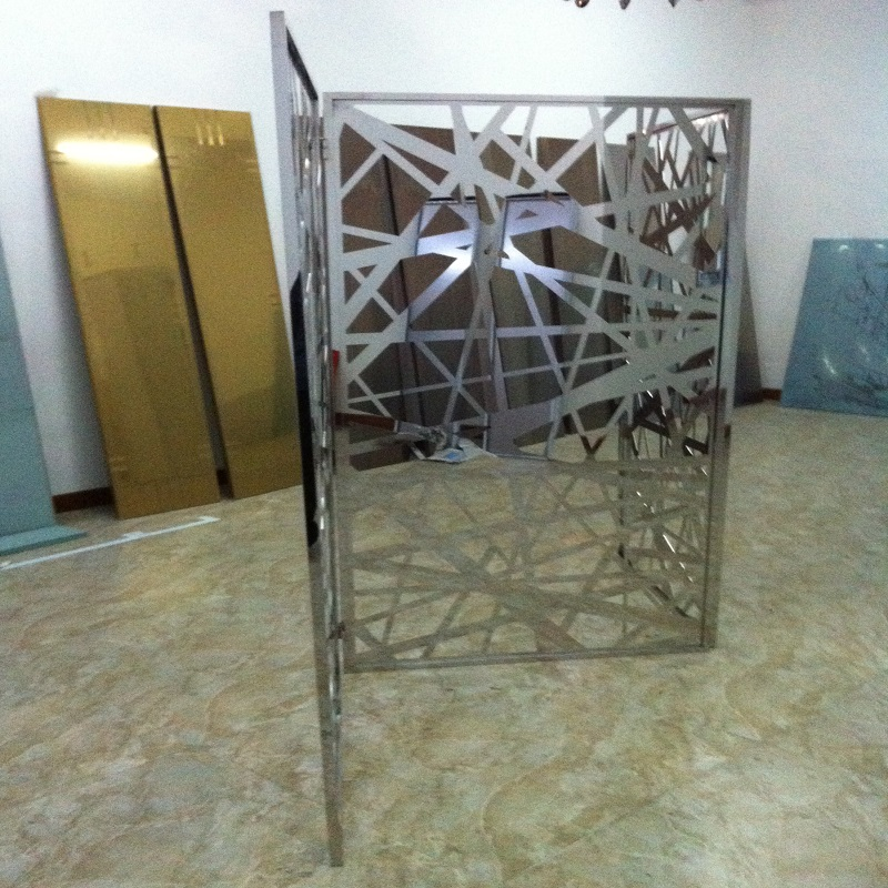 stainless steel screen laser cutting