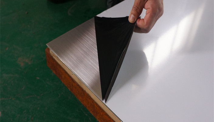 Large Area Decorative Stainless Steel Hairline sheet process