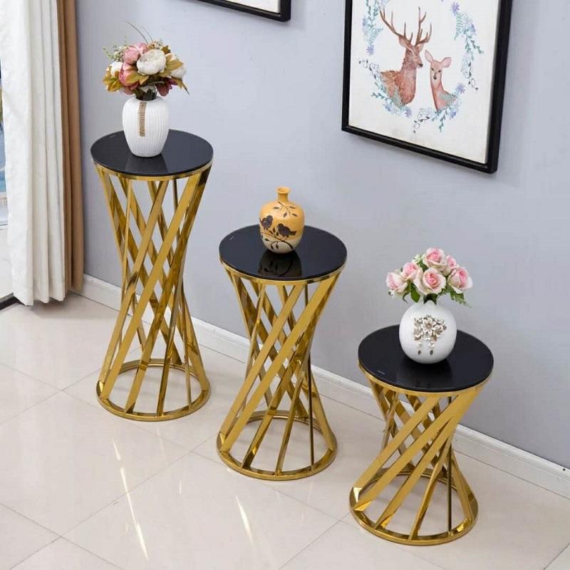 Stainless steel flower shelf