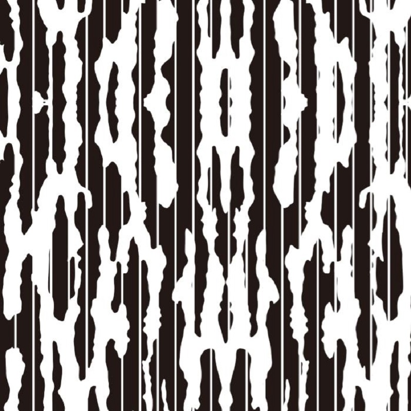 Etched pattern SS-027