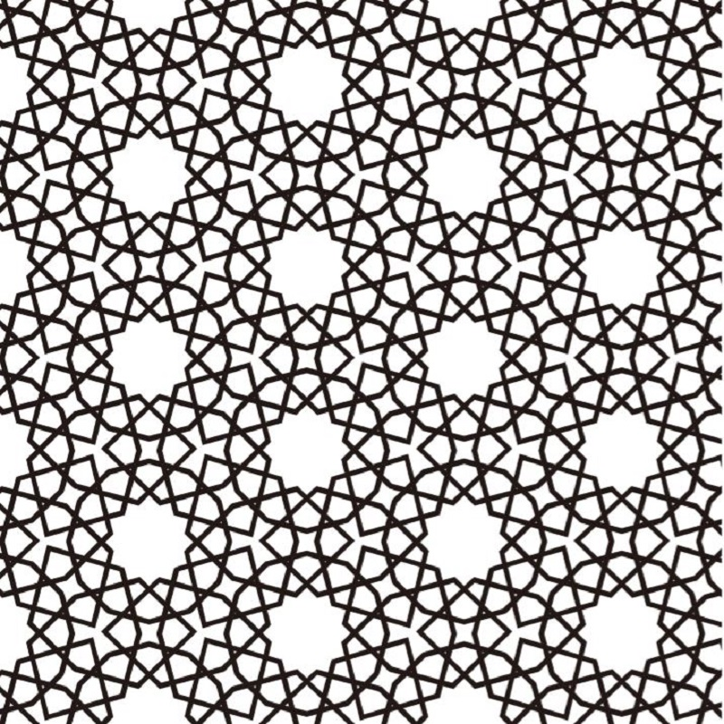 Etched pattern SS-073
