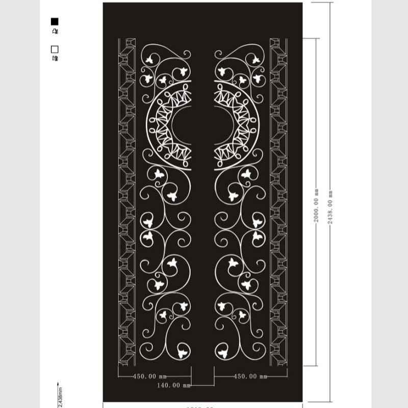 Etched pattern SS-088
