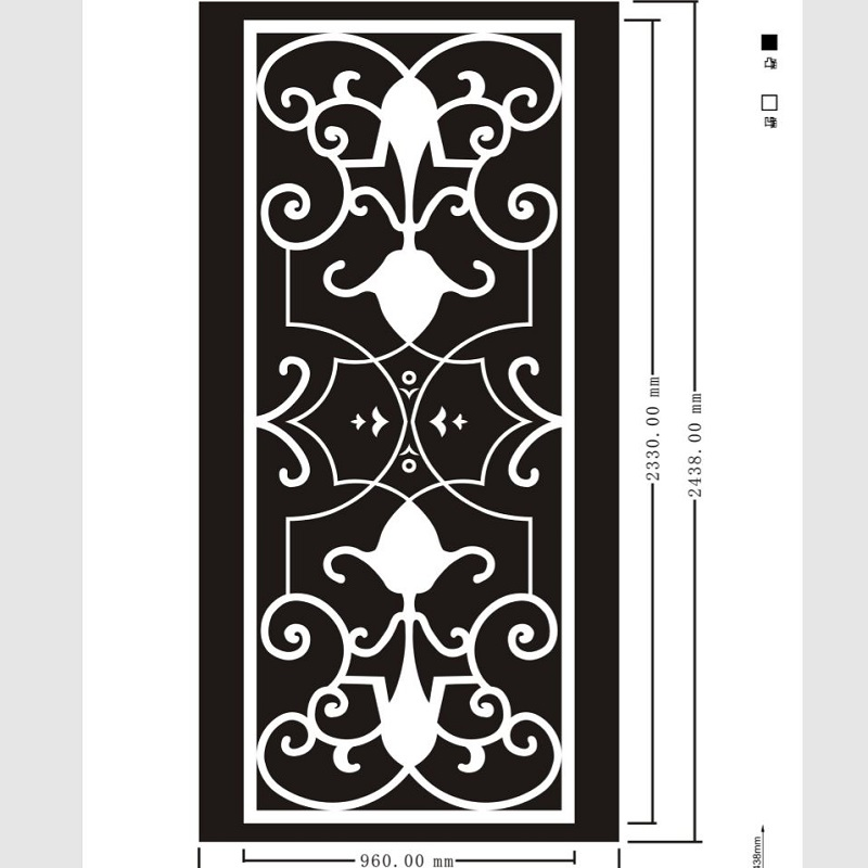 Etched pattern SS-099