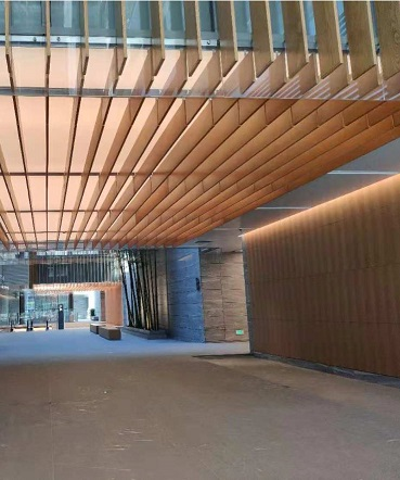 Beijing Shenghe Zhongtai entrance and hall cases