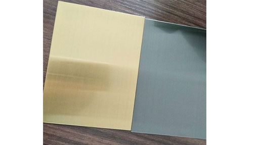 [High quality Stainless Steel Hairline for sale China]Attention to the use of color stainless steel sheet