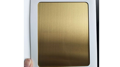 [Stainless Steel Sheets Shop]Attention To The Use Of Colored Stainless Steel Sheets